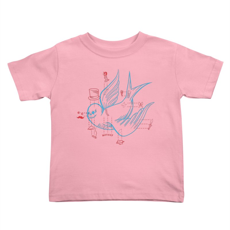 Classy Sparrow Kids Toddler T-Shirt by Mothef