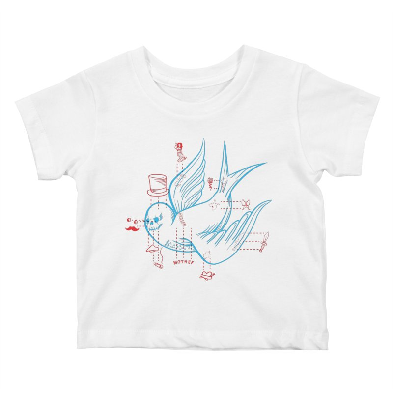 Classy Sparrow Kids Baby T-Shirt by Mothef