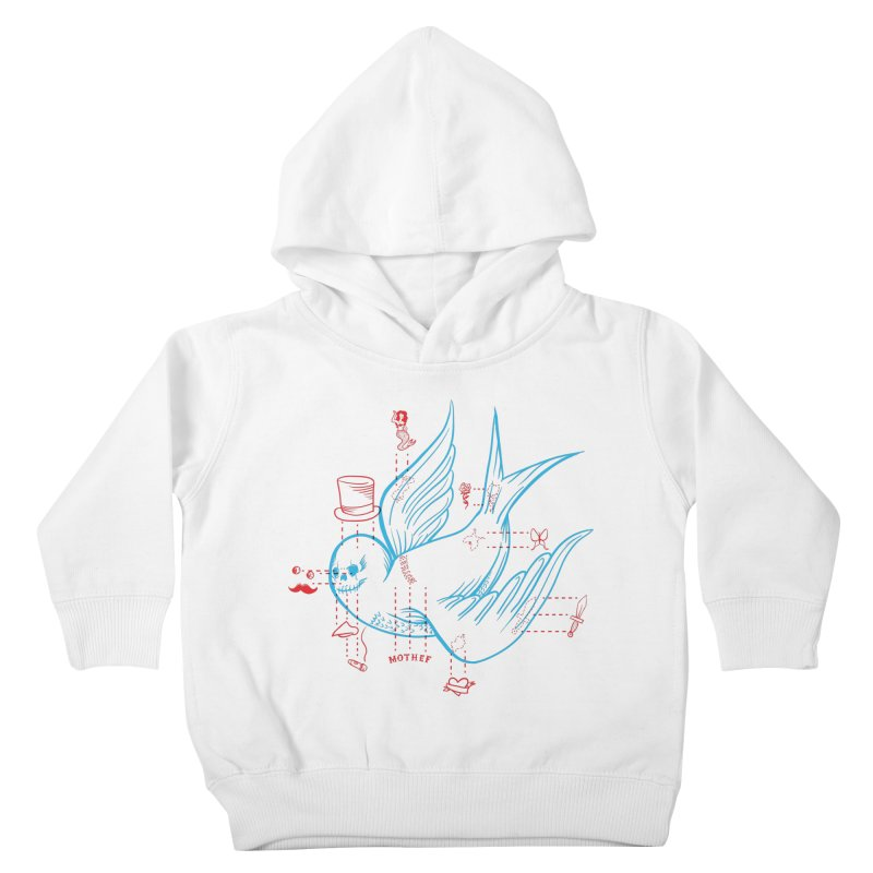 Classy Sparrow Kids Toddler Pullover Hoody by Mothef