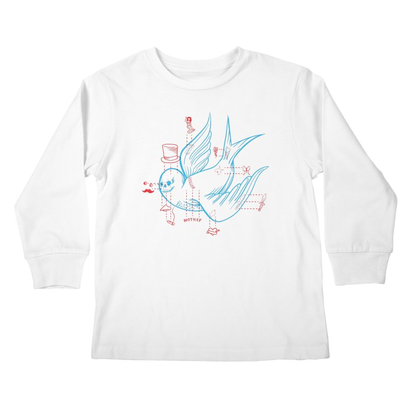 Classy Sparrow Kids Longsleeve T-Shirt by Mothef