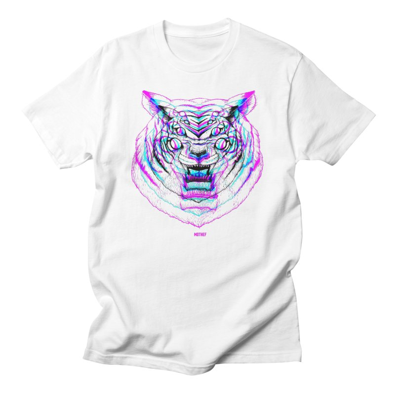Spider Tiger Men's Regular T-Shirt by Mothef