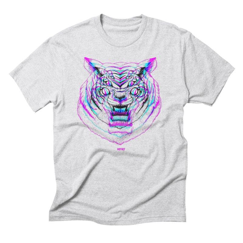 Spider Tiger Men's Triblend T-Shirt by Mothef