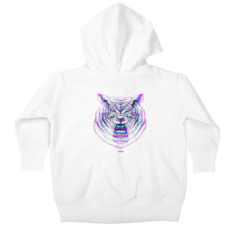 Spider Tiger Kids Baby Zip-Up Hoody by Mothef