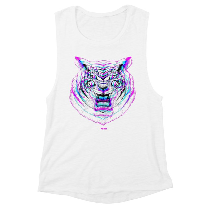 Spider Tiger Women's Muscle Tank by Mothef
