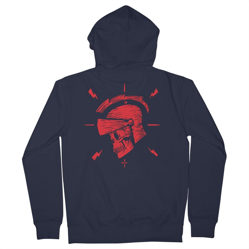 Spartan Men's French Terry Zip-Up Hoody by Mothef