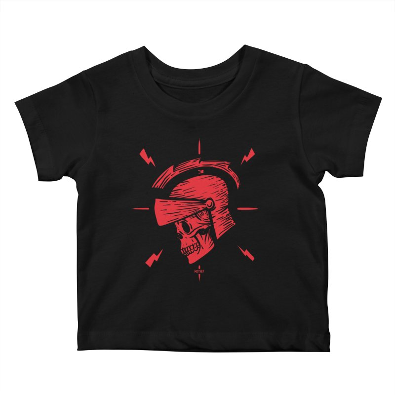 Spartan Kids Baby T-Shirt by Mothef