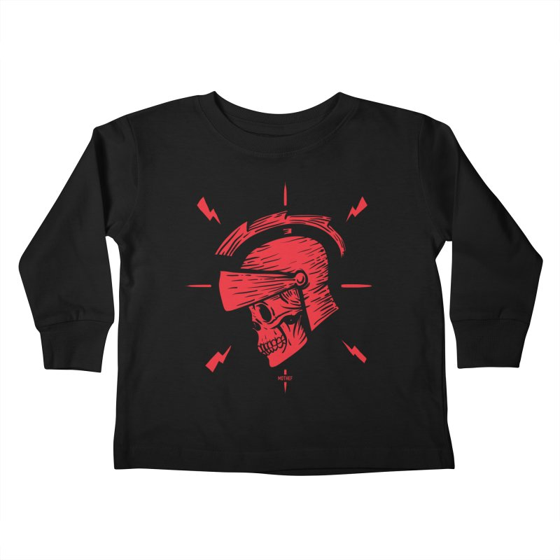 Spartan Kids Toddler Longsleeve T-Shirt by Mothef