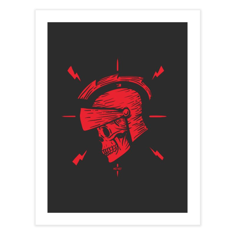 Spartan Home Fine Art Print by Mothef