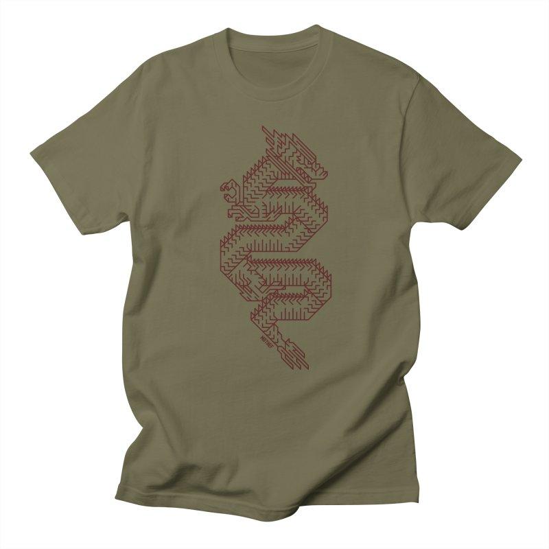 Dragon Men's Regular T-Shirt by Mothef