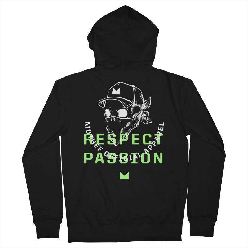 Respect Passion Women's French Terry Zip-Up Hoody by Mothef
