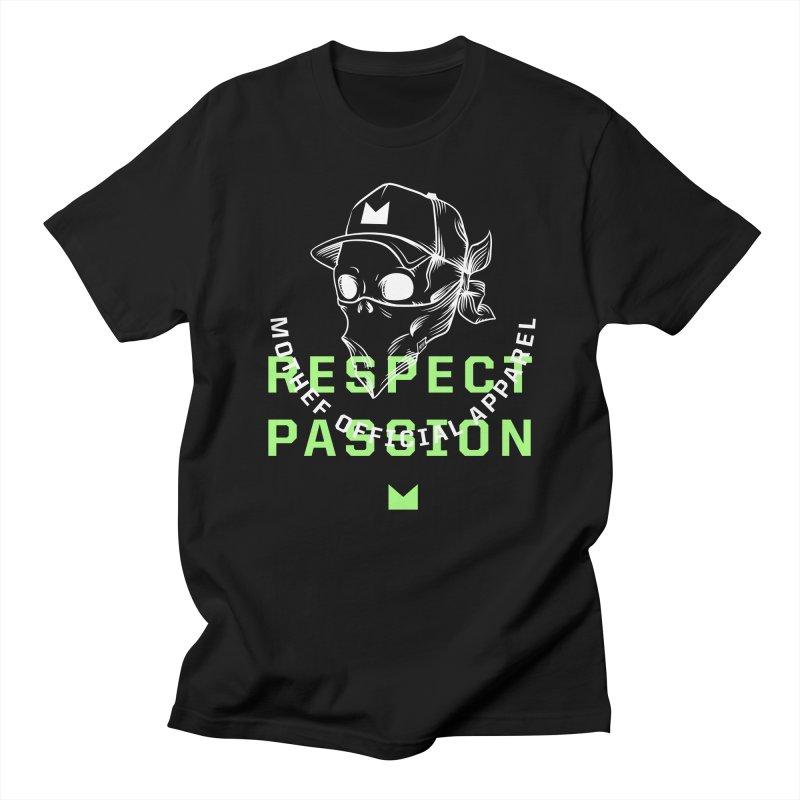 Respect Passion Men's Regular T-Shirt by Mothef