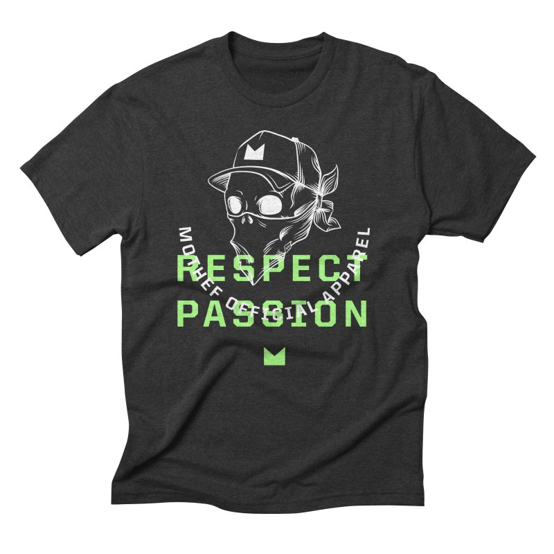 Respect Passion Men's Triblend T-Shirt by Mothef