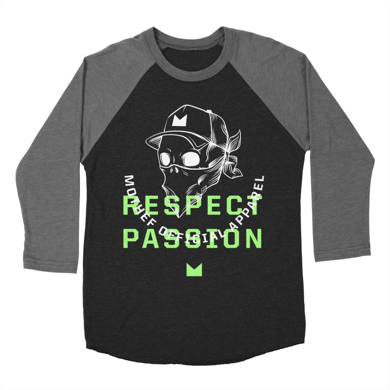 Respect Passion Women's Baseball Triblend Longsleeve T-Shirt by Mothef