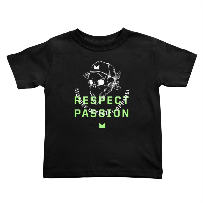 Respect Passion Kids Toddler T-Shirt by Mothef