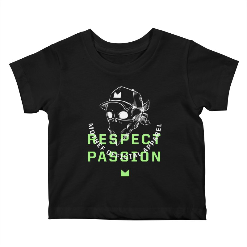 Respect Passion Kids Baby T-Shirt by Mothef
