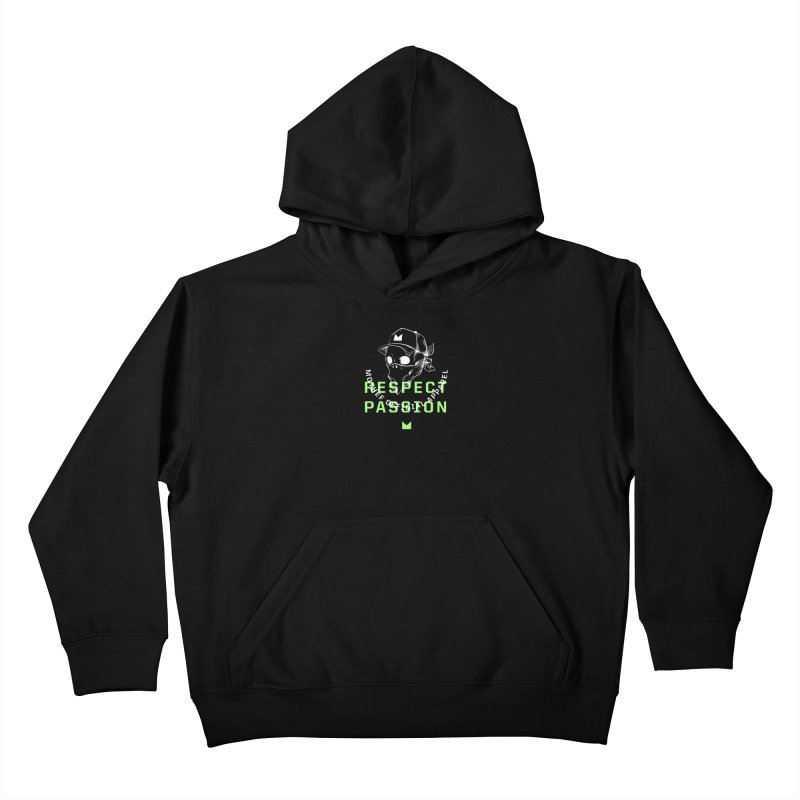 Respect Passion Kids Pullover Hoody by Mothef