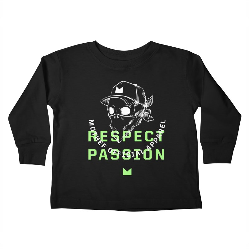 Respect Passion Kids Toddler Longsleeve T-Shirt by Mothef
