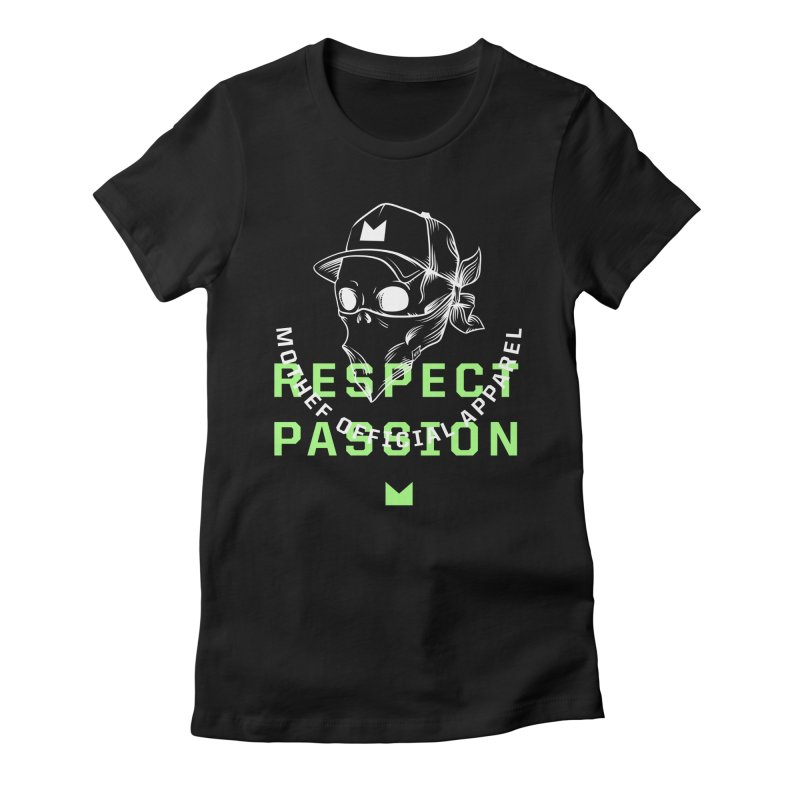 Respect Passion Women's Fitted T-Shirt by Mothef