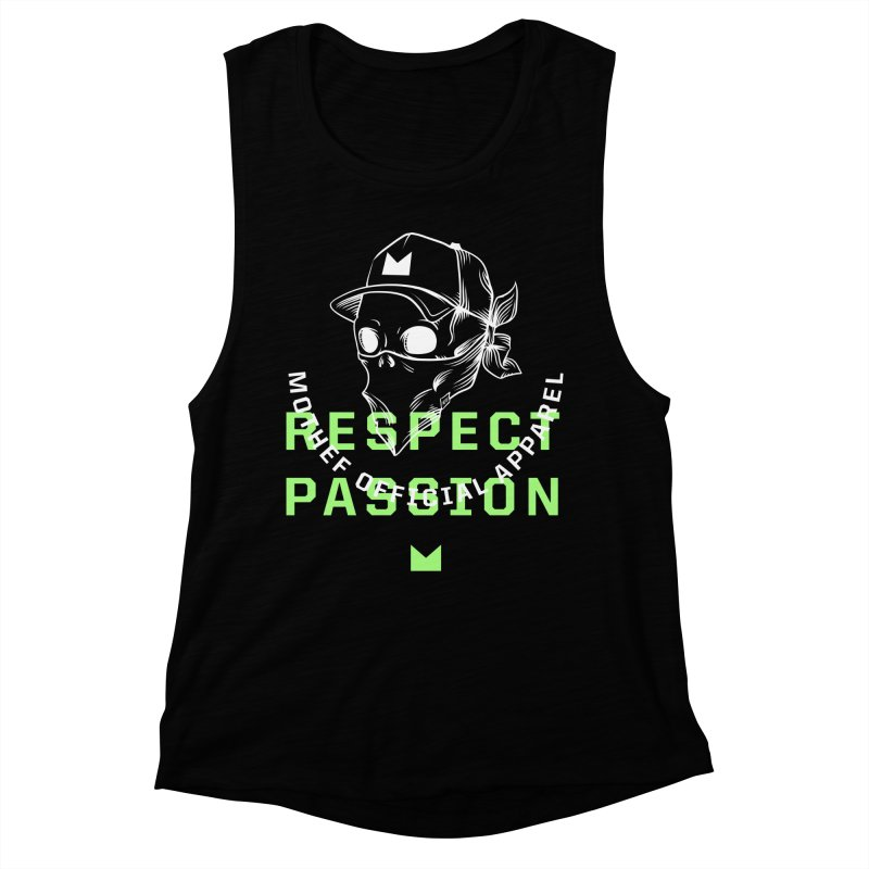 Respect Passion Women's Muscle Tank by Mothef