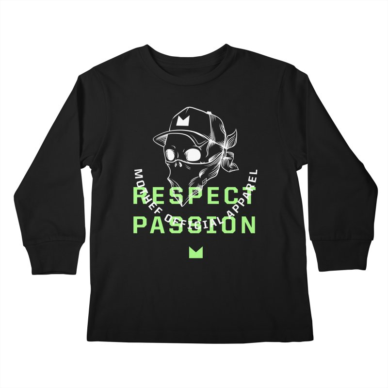 Respect Passion Kids Longsleeve T-Shirt by Mothef