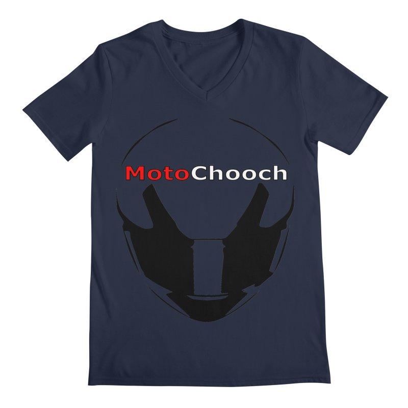 MotoChooch Men's Regular V-Neck by MotoChooch Merch