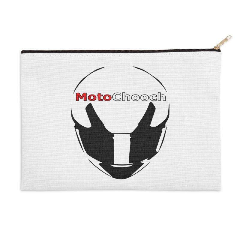 MotoChooch Accessories Zip Pouch by MotoChooch Merch