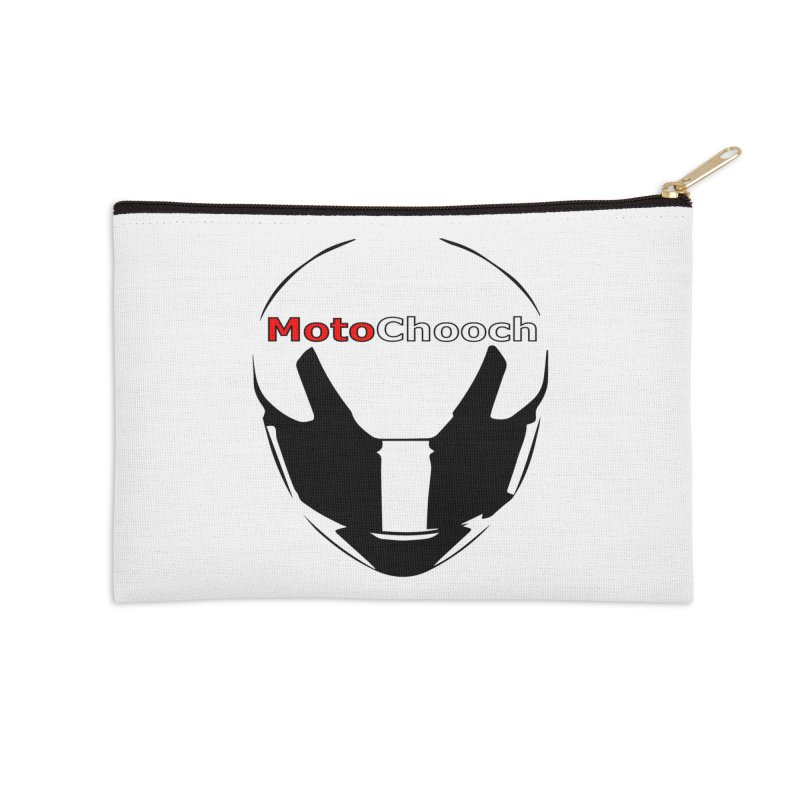 MotoChooch Accessories Zip Pouch by MotoChooch Merch