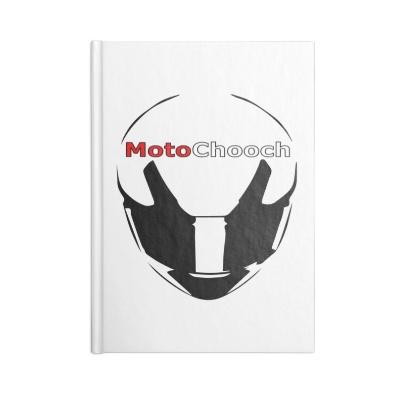 MotoChooch Accessories Blank Journal Notebook by MotoChooch Merch