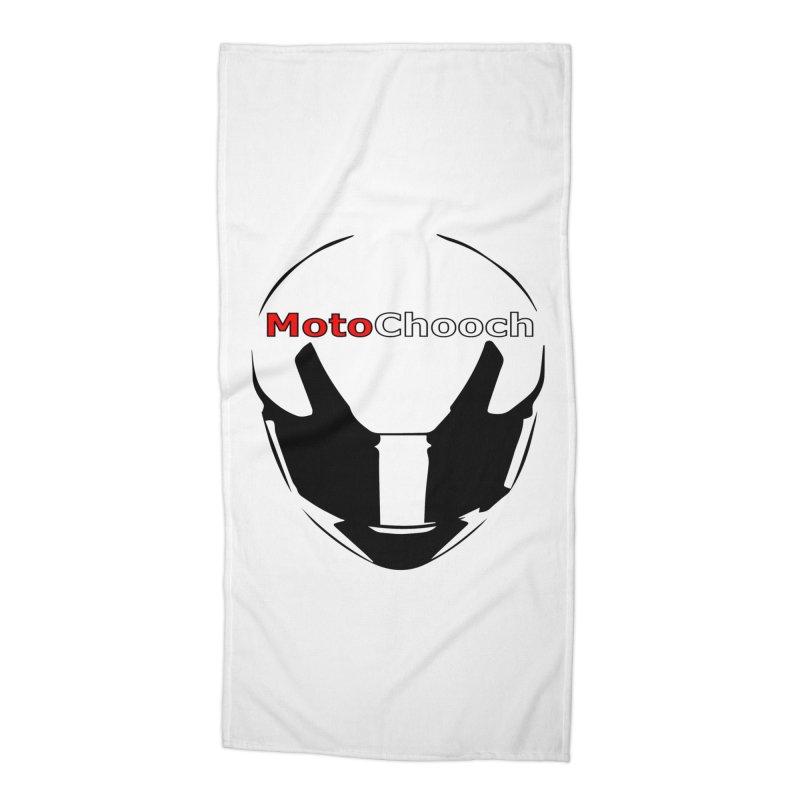 MotoChooch Accessories Beach Towel by MotoChooch Merch