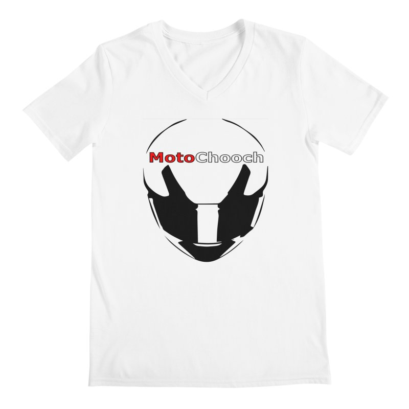 MotoChooch Men's Regular V-Neck by MotoChooch Merch