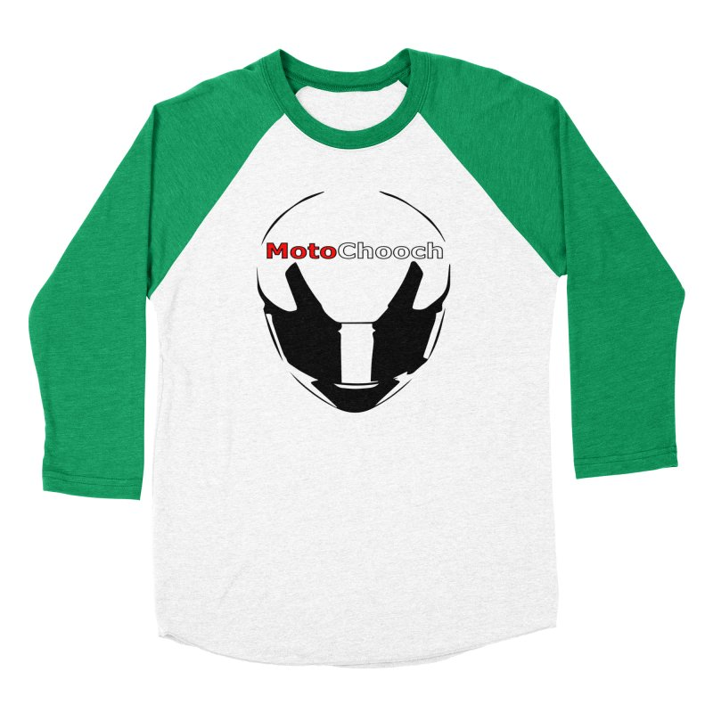 MotoChooch Women's Baseball Triblend Longsleeve T-Shirt by MotoChooch Merch