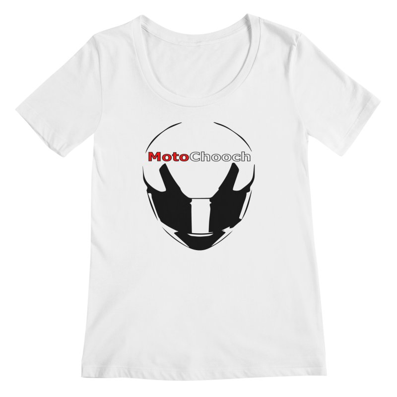 MotoChooch Women's Regular Scoop Neck by MotoChooch Merch