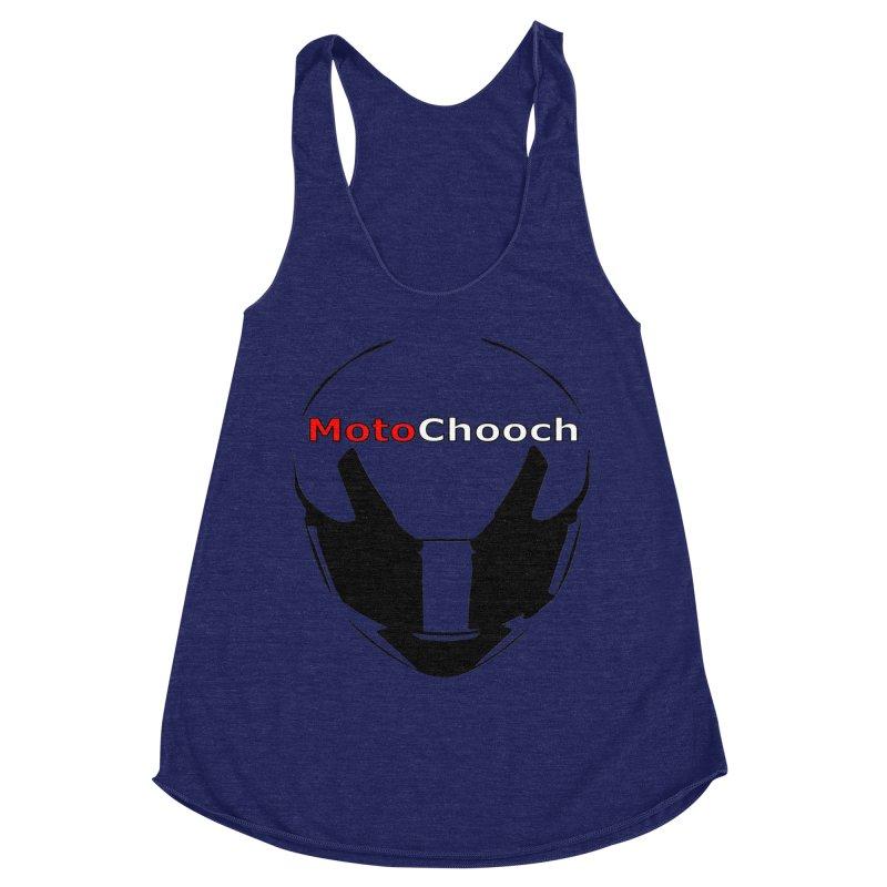 MotoChooch Women's Racerback Triblend Tank by MotoChooch Merch