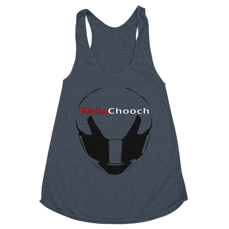 MotoChooch Women's Racerback Triblend Tank by MotoChooch Merch