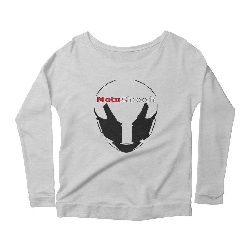 MotoChooch Women's Scoop Neck Longsleeve T-Shirt by MotoChooch Merch