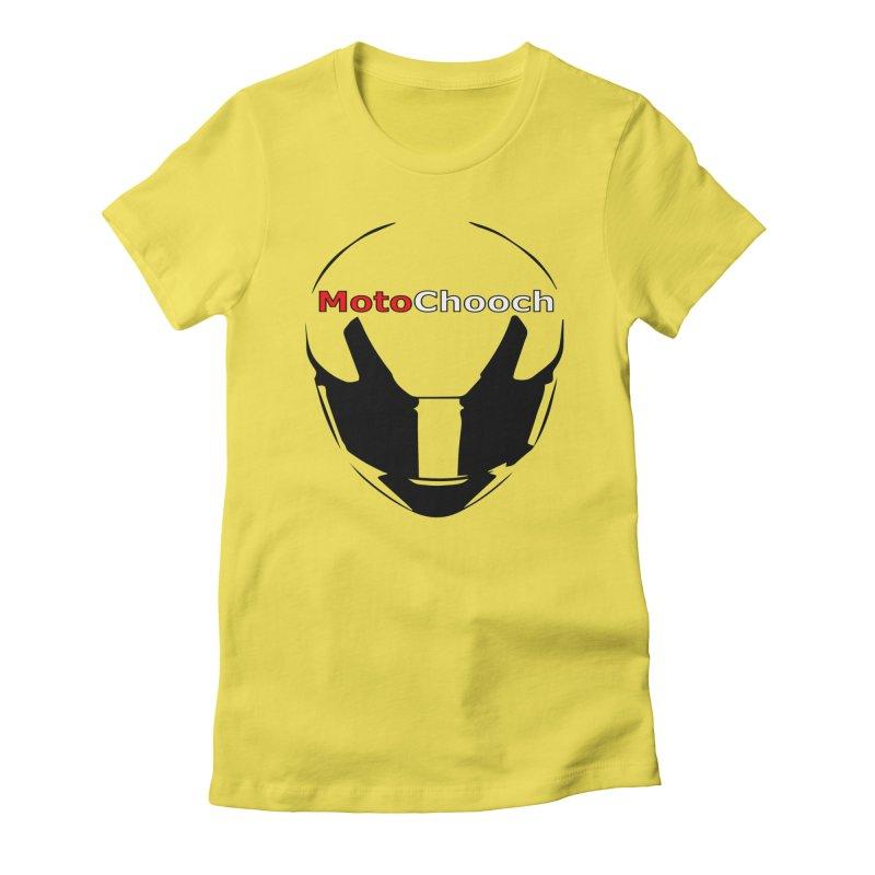 MotoChooch Women's Fitted T-Shirt by MotoChooch Merch