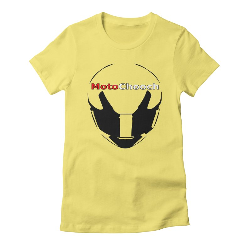 MotoChooch Women's Fitted T-Shirt by MotoChooch Merch