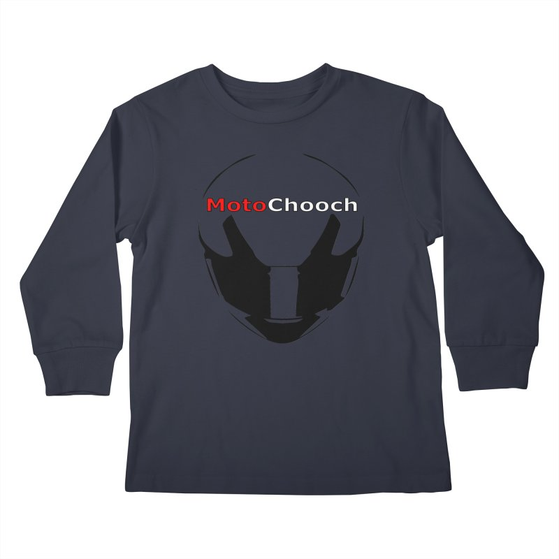 MotoChooch Kids Longsleeve T-Shirt by MotoChooch Merch