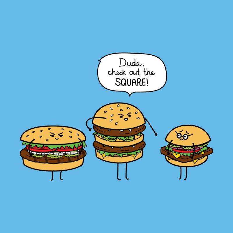 Burger Bullies None  by Mouki K. Butt: Artist Shop