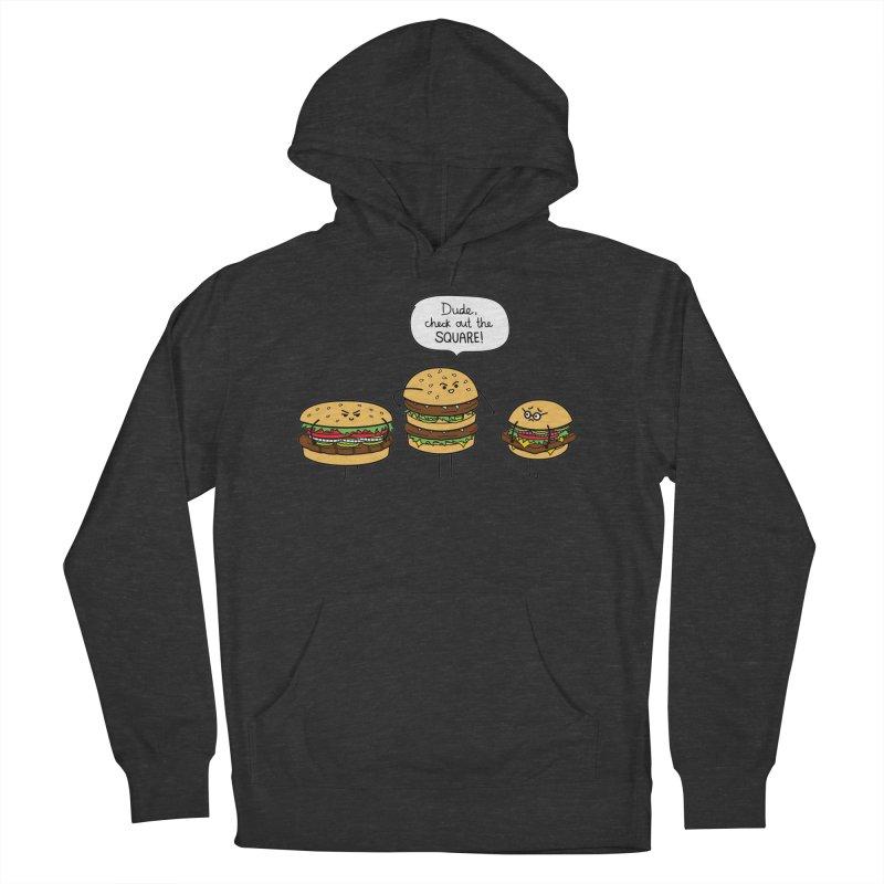 Burger Bullies Women's Pullover Hoody by Mouki K. Butt: Artist Shop