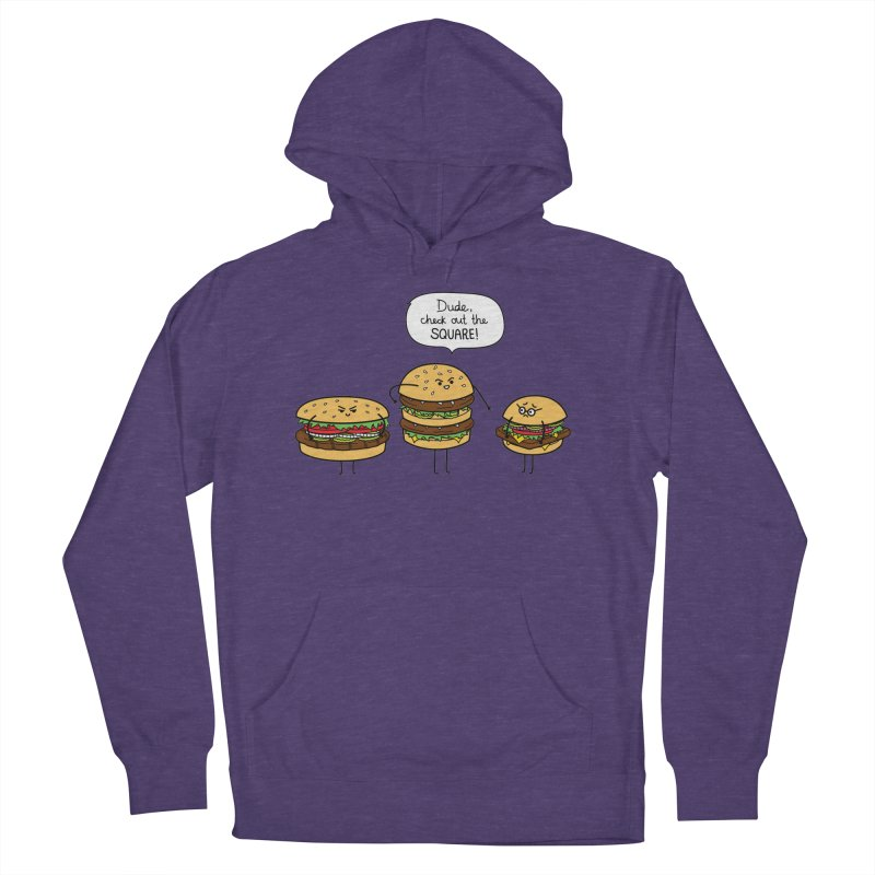 Burger Bullies Men's Pullover Hoody by Mouki K. Butt: Artist Shop
