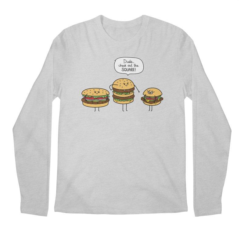 Burger Bullies Men's Longsleeve T-Shirt by Mouki K. Butt: Artist Shop