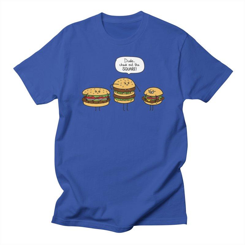 Burger Bullies Women's Regular Unisex T-Shirt by Mouki K. Butt: Artist Shop