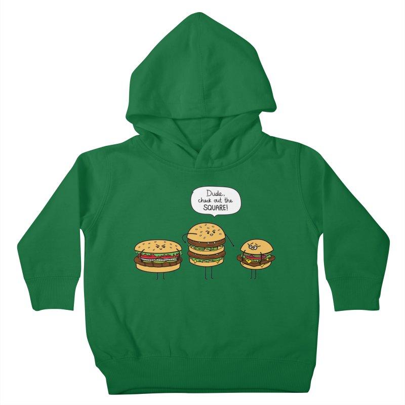 Burger Bullies Kids Toddler Pullover Hoody by Mouki K. Butt: Artist Shop