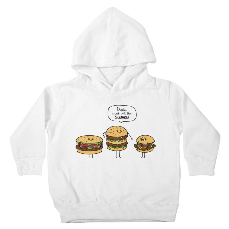 Burger Bullies Kids Toddler Pullover Hoody by Mouki K. Butt: Artist Shop