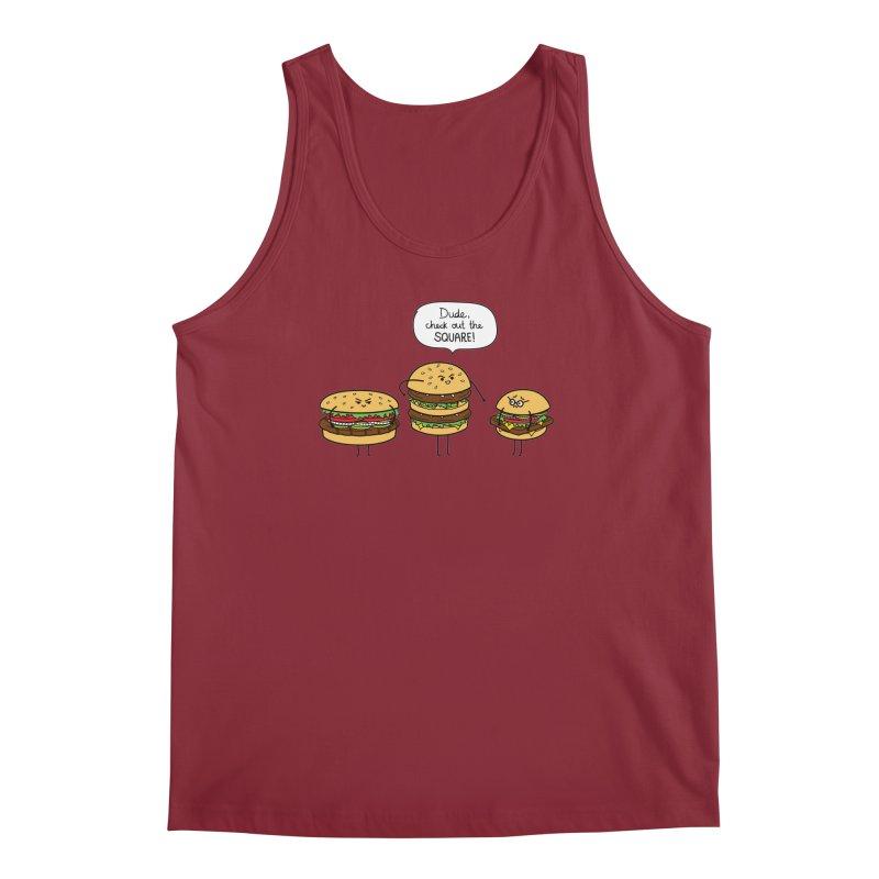 Burger Bullies Men's Tank by Mouki K. Butt: Artist Shop