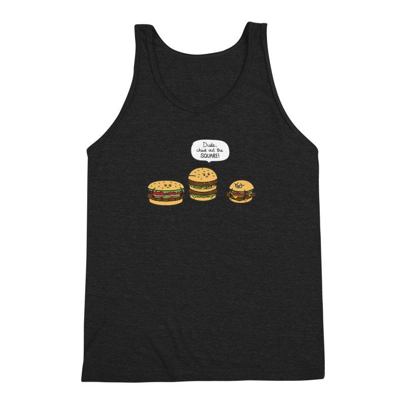 Burger Bullies Men's Triblend Tank by Mouki K. Butt: Artist Shop