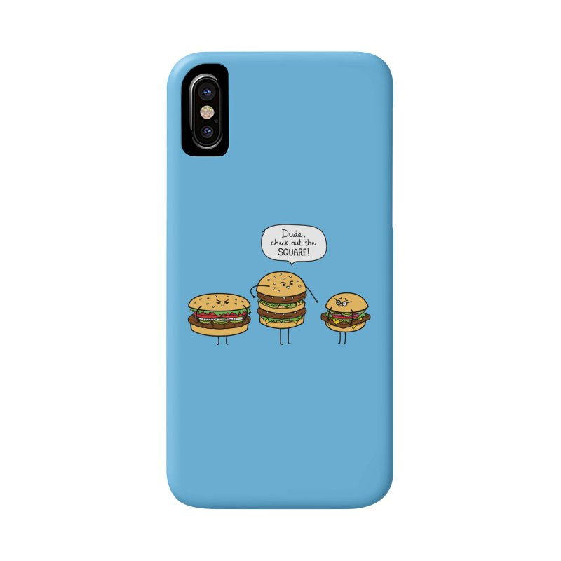 Burger Bullies Accessories Phone Case by Mouki K. Butt: Artist Shop