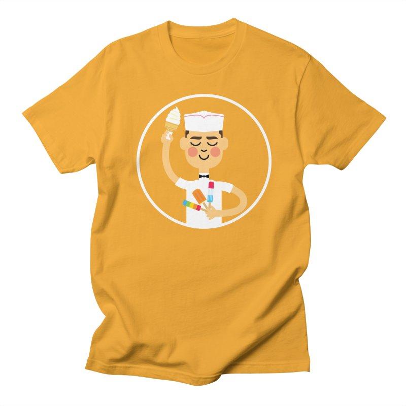 Taste of Summer Men's Regular T-Shirt by Mouki K. Butt: Artist Shop