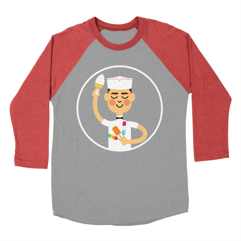 Taste of Summer Women's Baseball Triblend T-Shirt by Mouki K. Butt: Artist Shop